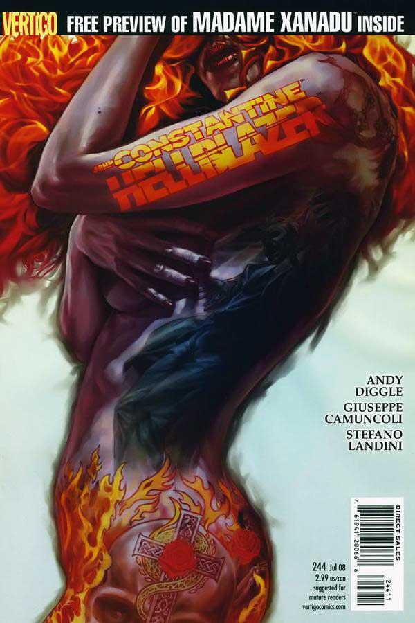 Hellblazer #244, читать онлайн, комиксы бесплатно читать, комиксы на русском онлайн бесплатно