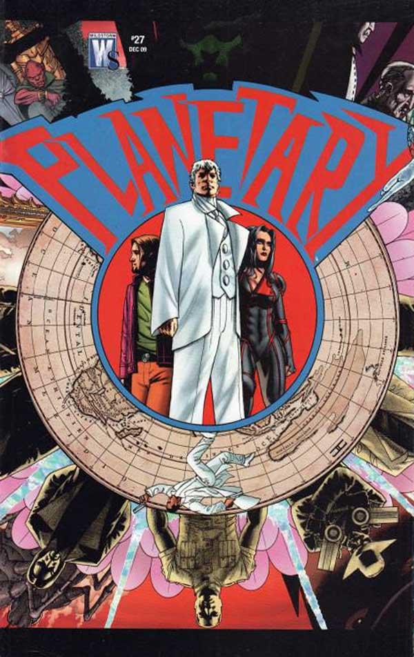 PLANETARY #27, читать комикс онлайн на русском, комиксы бесплатно читать, комиксы дс