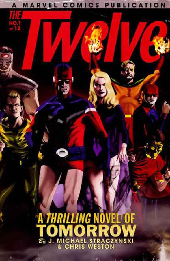 the twelve #1, двенадцать #1, комикс капитан америка, читать онлайн