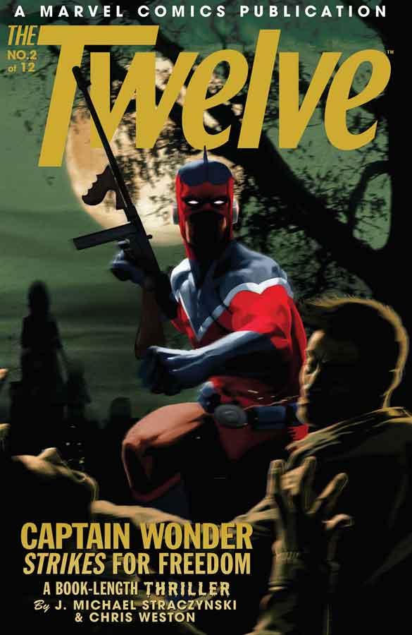 the twelve #2, двенадцать #2, комикс капитан америка, читать онлайн