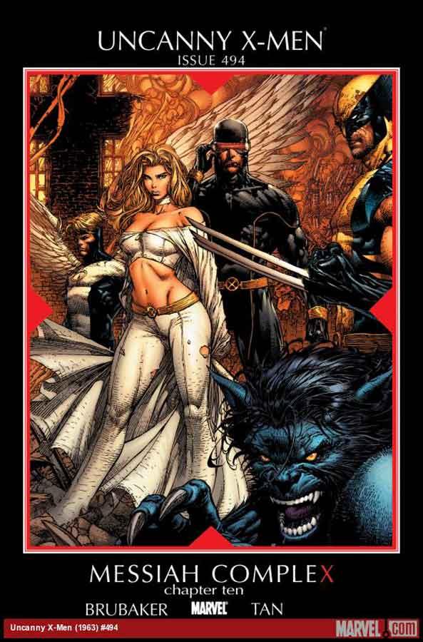 uncanny x man #494, Невероятные Люди Икс #494, читать комиксы марвел онлайн