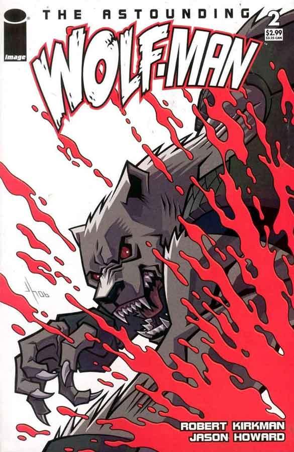 The Astounding Wolf-Man #2, Поразительный Оборотень #2, читать комиксы