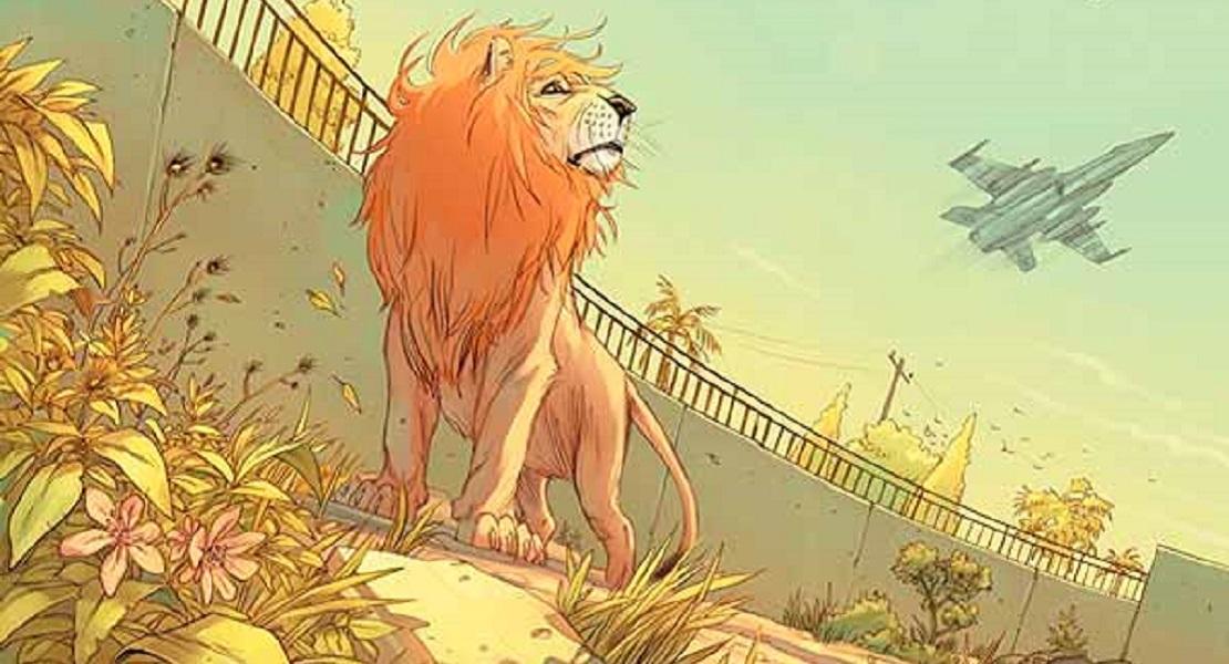 Pride of Baghdad читать комиксы Львы Багдада