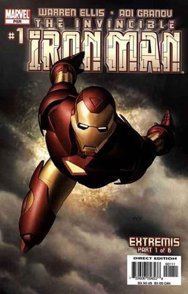 Железный Человек Том 4 #1, Iron Man #1 Vol 4, читать комиксы про Железного Человека