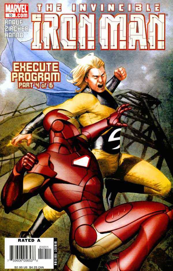 Железный Человек Том 4 #10, Iron Man #10 Vol 4, читать комиксы про Железного Человека