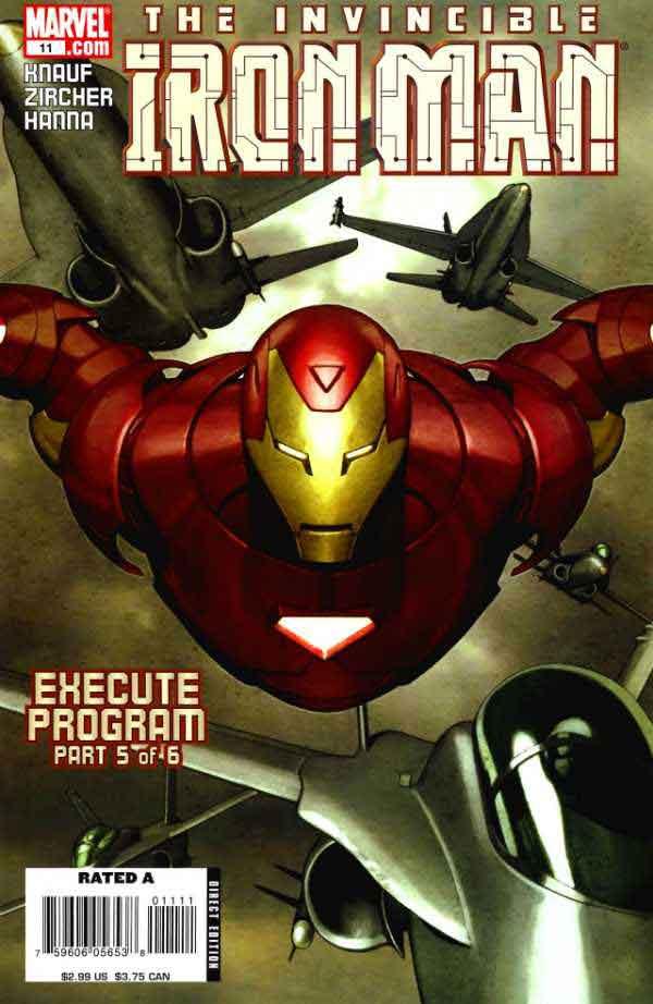 Железный Человек Том 4 #11, Iron Man #11 Vol 4, читать комиксы про Железного Человека