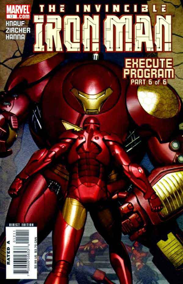 Железный Человек Том 4 #12, Iron Man #12 Vol 4, читать комиксы про Железного Человека