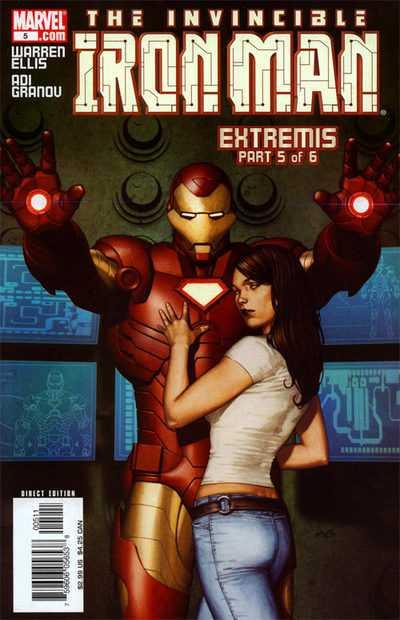 Железный Человек Том 4 #5, Iron Man #5 Vol 4, читать комиксы про Железного Человека