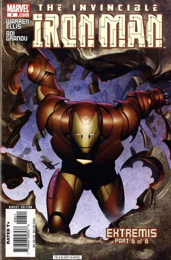 Железный Человек Том 4 #6, Iron Man #6 Vol 4, читать комиксы про Железного Человека