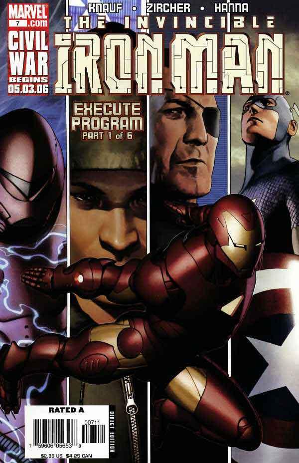 Железный Человек Том 4 #7, Iron Man #6 Vol 7, читать комиксы про Железного Человека