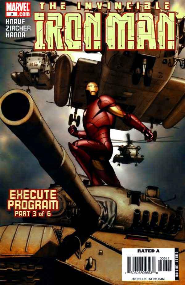 Железный Человек Том 4 #9, Iron Man #6 Vol 9, читать комиксы про Железного Человека