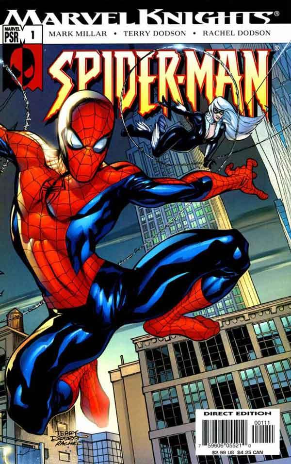 Marvel Knights Spider-Man #01, Рыцари Марвел Человек Паук 01, читать комиксы Человек Паук