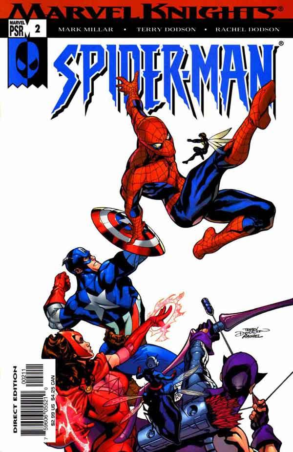 Marvel Knights Spider-Man #02, Рыцари Марвел Человек Паук 02, читать комиксы Человек Паук