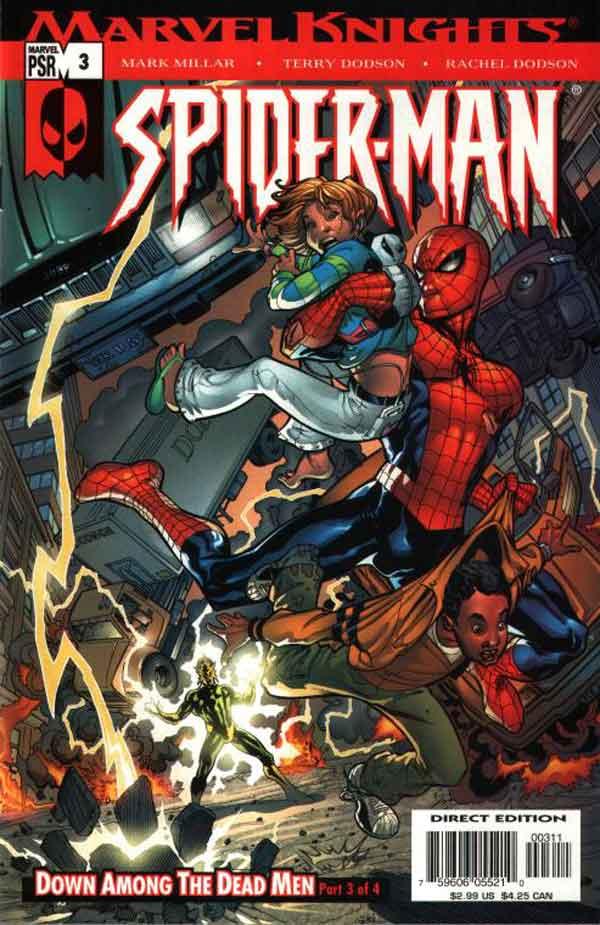 Marvel Knights Spider-Man #03, Рыцари Марвел Человек Паук 03, читать комиксы Человек Паук