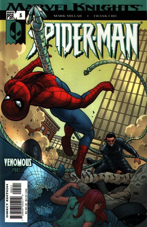 Marvel Knights Spider-Man #05, Рыцари Марвел Человек Паук 05, читать комиксы Человек Паук