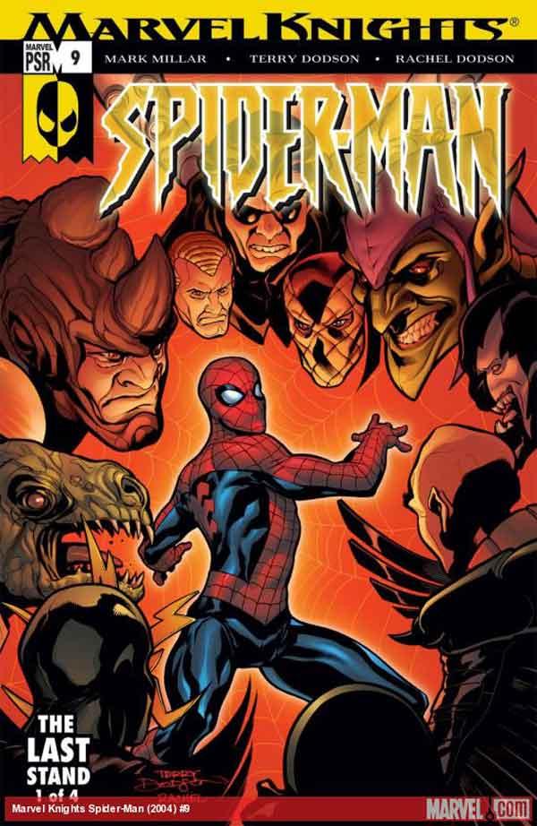 Marvel Knights Spider-Man #09, Человек Паук Последняя Битва, читать комиксы человек Паук
