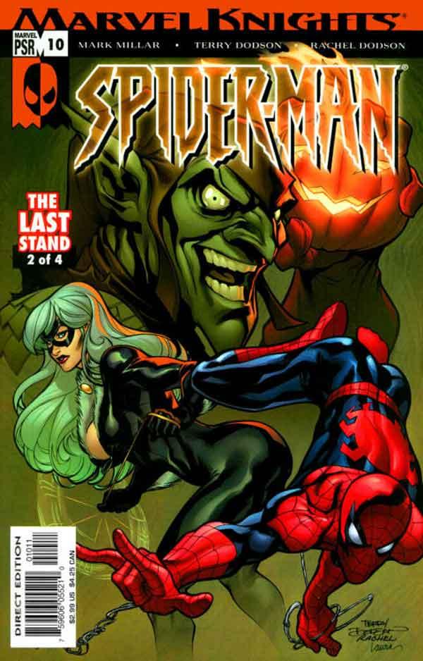 Marvel Knights Spider-Man #10, Человек Паук Последняя Битва, читать комиксы человек Паук
