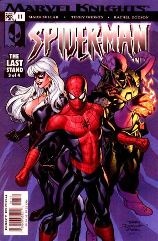 Marvel Knights Spider-Man #11, Человек Паук Последняя Битва, читать комиксы человек Паук