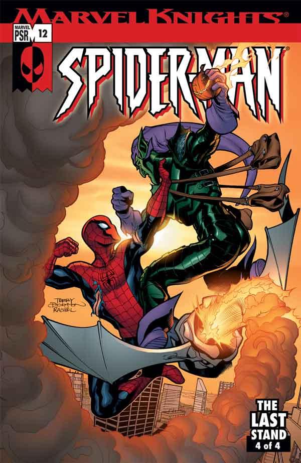 Marvel Knights Spider-Man #12, Человек Паук Последняя Битва, читать комиксы человек Паук