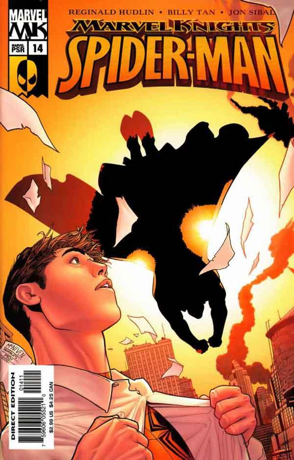 Marvel Knights Spider-Man #13, Человек Паук комиксы, читать комиксы человек Паук, Рыцари Марвел Человек Паук 14