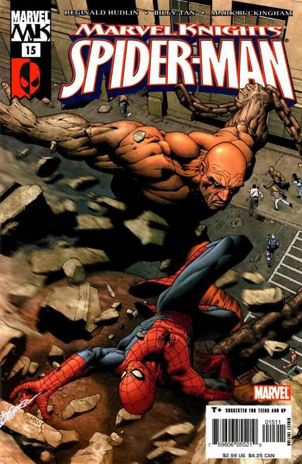 Marvel Knights Spider-Man #15, Человек Паук комиксы, читать комиксы человек Паук, Рыцари Марвел Человек Паук 15