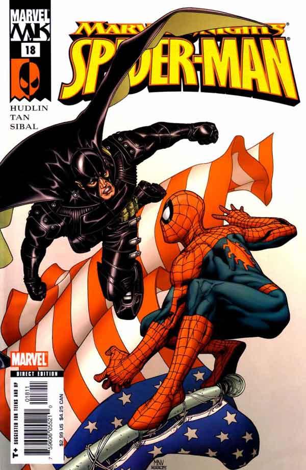 Marvel Knights Spider-Man #18, Рыцари Марвел Человек Паук, читать комиксы Человек Паук