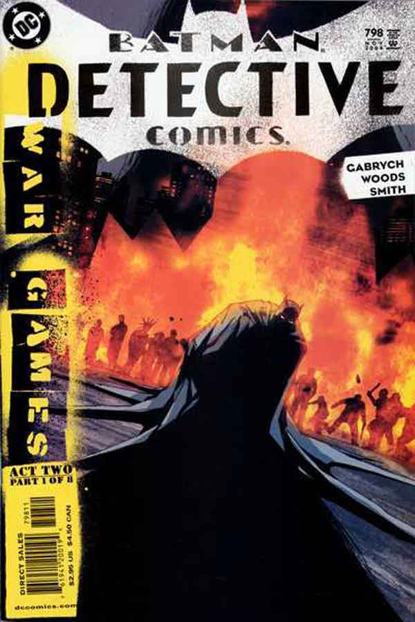 detective comics #798, комиксы про Бэтмена онлайн на русском, Детективные игры
