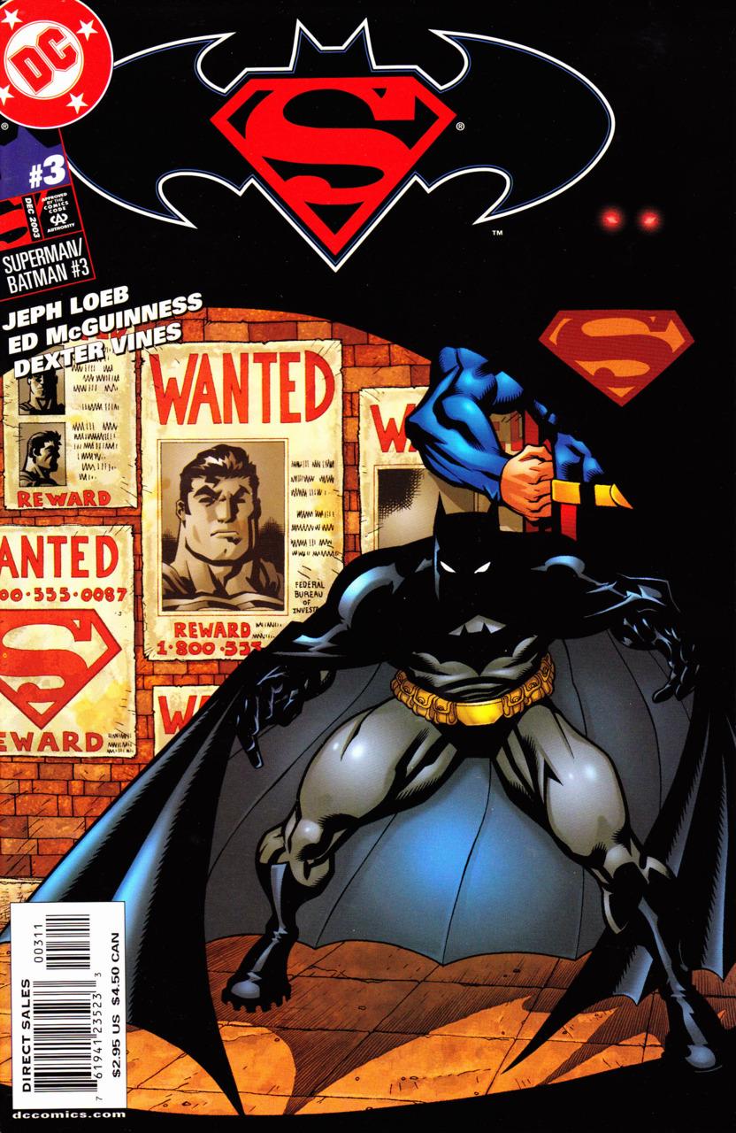 Superman Batman World's Finest #3, Бэтмен и Супермен — Лучшие в мире #3, комиксы бэтмен супермен читать