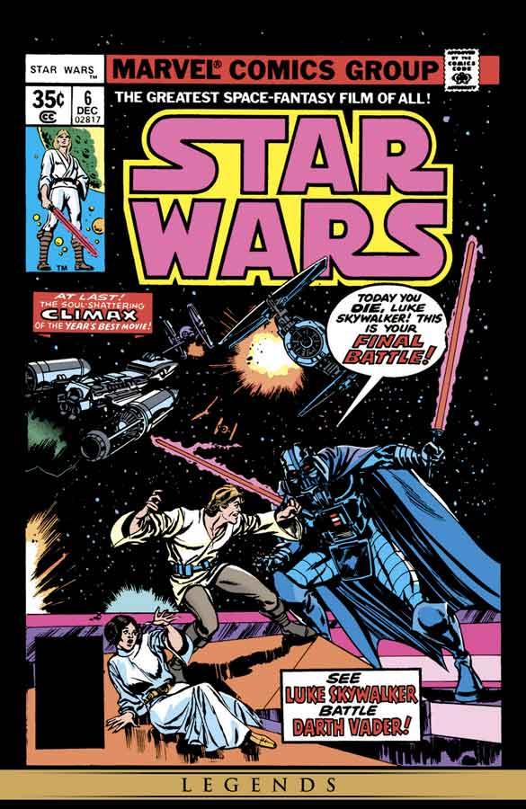 star wars #6 (1977), звёздные войны #6, читать комиксы онлайн звёздные войны