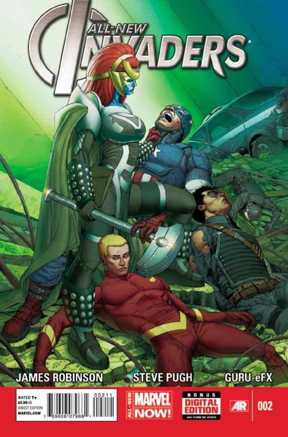 All-New Invaders #2, Совершенно новые захватчики #2, читать комиксы марвел
