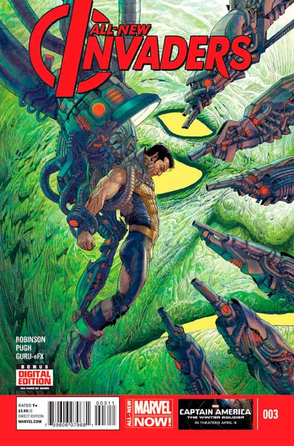 All-New Invaders #3, Совершенно новые захватчики #3, читать комиксы марвел