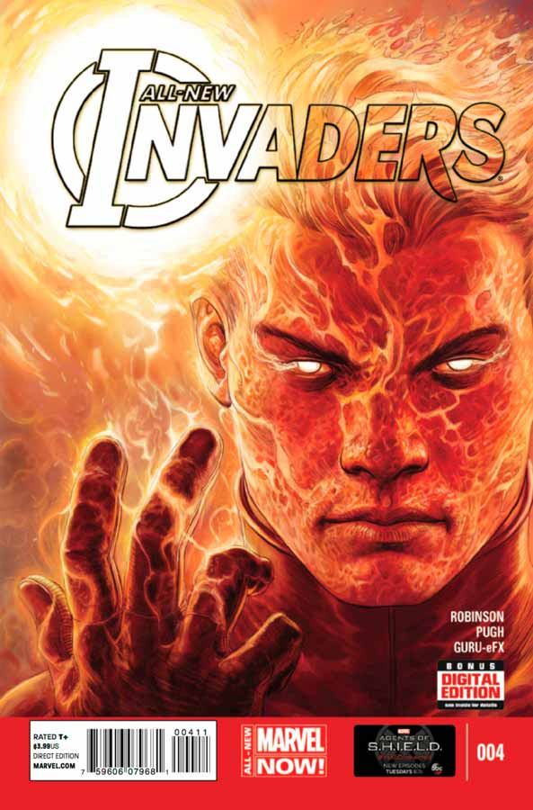 All-New Invaders #4, Совершенно новые захватчики #4, читать комиксы марвел