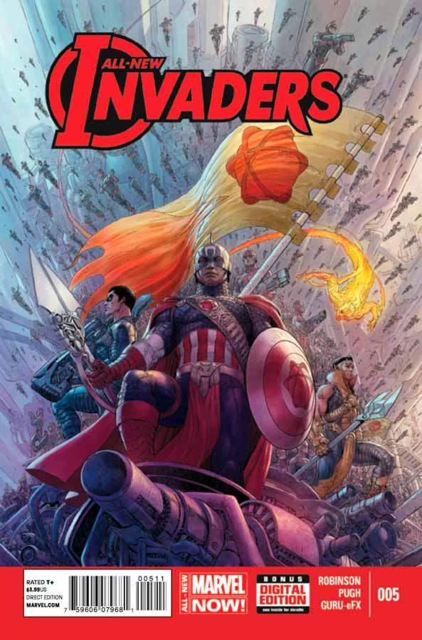 All-New Invaders #5, Совершенно новые захватчики #5, читать комиксы марвел
