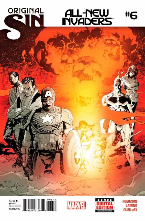 All-New Invaders #6, Совершенно новые захватчики #6, читать комиксы марвел