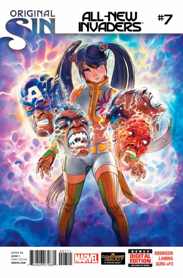 All-New Invaders #7, Совершенно новые захватчики #7, читать комиксы марвел