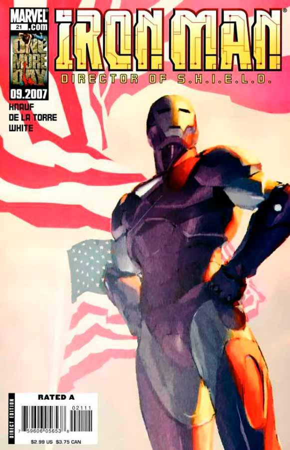 Железный Человек Том 4 #21, Iron Man #21 Vol 4, читать комиксы про Железного Человека