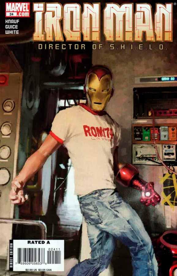 Железный Человек Том 4 #24, Iron Man #24 Vol 4, читать комиксы про Железного Человека