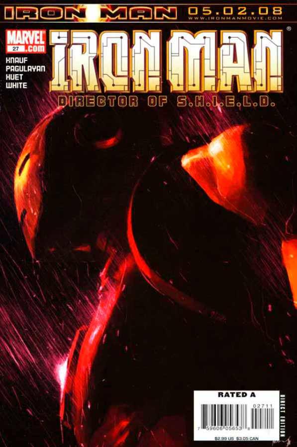 Железный Человек Том 4 #27, Iron Man #27 Vol 4, читать комиксы про Железного Человека