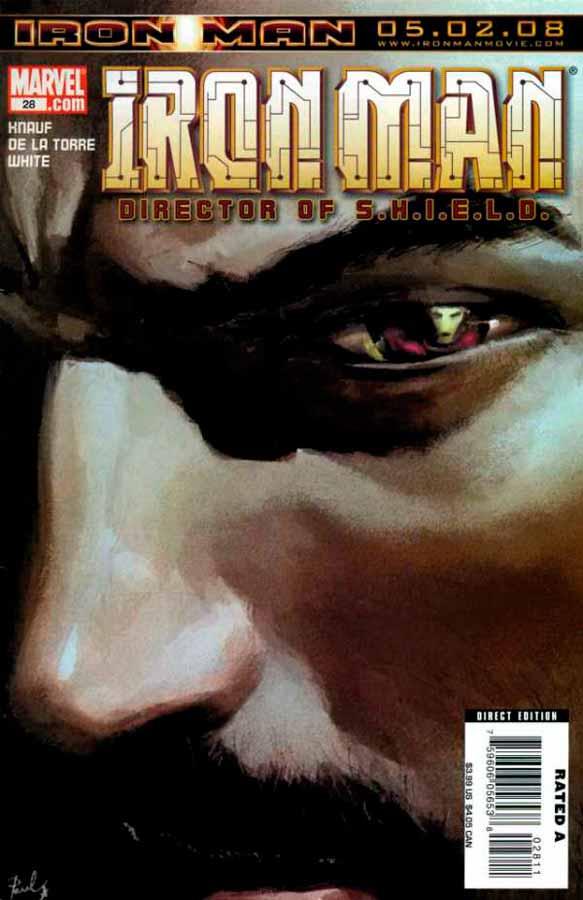 Железный Человек Том 4 #28, Iron Man #28 Vol 4, читать комиксы про Железного Человека