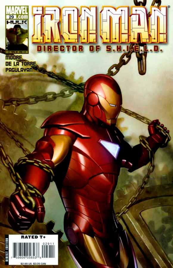 Железный Человек Том 4 #29, Iron Man #29 Vol 4, читать комиксы про Железного Человека