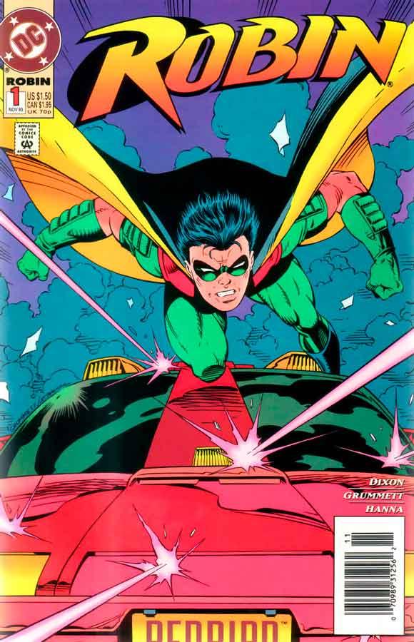 Robin #1, читать комиксы Робин #1 (1993)