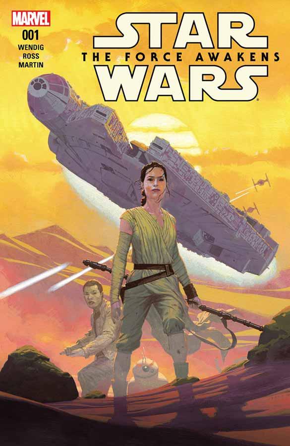 Star Wars: The Force Awakens Adaptation #1, Звездные Войны: Пробуждение Силы Адаптация #1, читать комиксы Звёздные воины