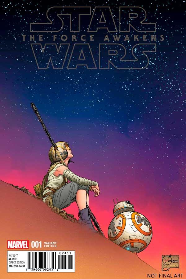 Star Wars: The Force Awakens Adaptation #1 скачать читать онлайн