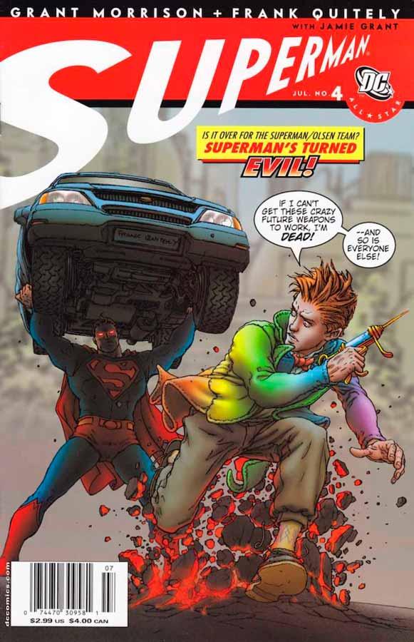 All-Star Superman #4, Супермен: Все звезды #4, читать комиксы про Супермена