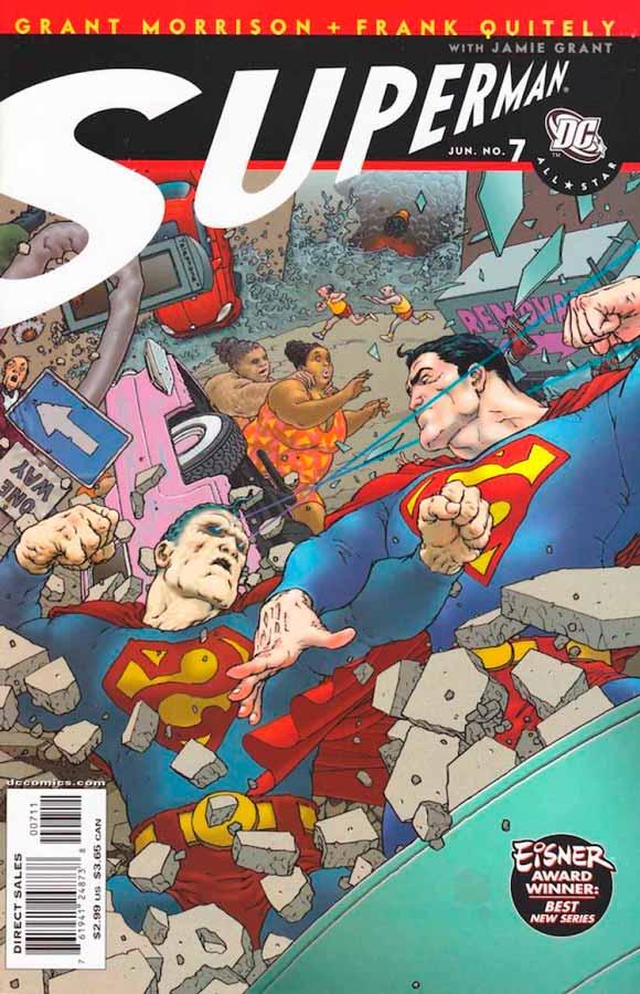 All-Star Superman #7, Супермен: Все звезды #7, читать комиксы про Супермена