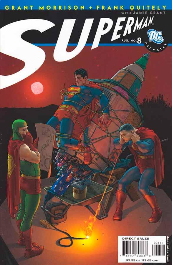 All-Star Superman #8, Супермен: Все звезды #8, читать комиксы про Супермена
