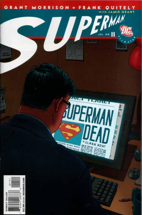 All-Star Superman #11, Супермен: Все звезды #11, читать комиксы про Супермена