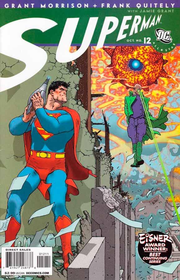 All-Star Superman #12, Супермен: Все звезды #12, читать комиксы про Супермена