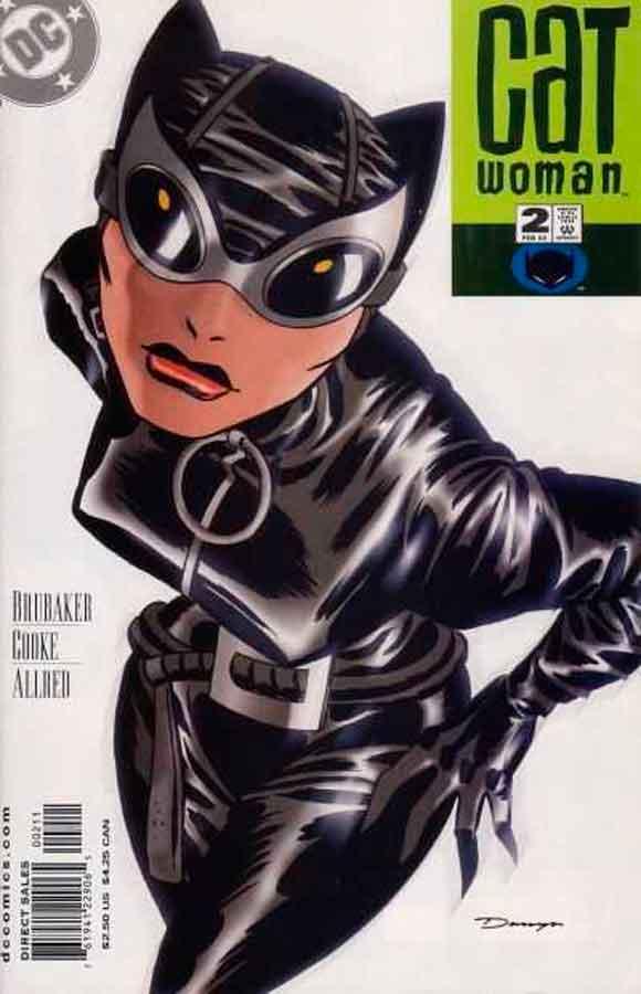 Женщина Кошка Том 3 #2, Catwoman #2 Vol 3, комиксы женщина кошка