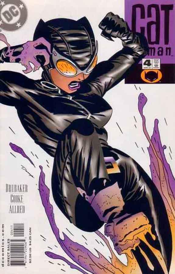 Женщина Кошка Том 3 #4, Catwoman #4 Vol 3, комиксы женщина кошка